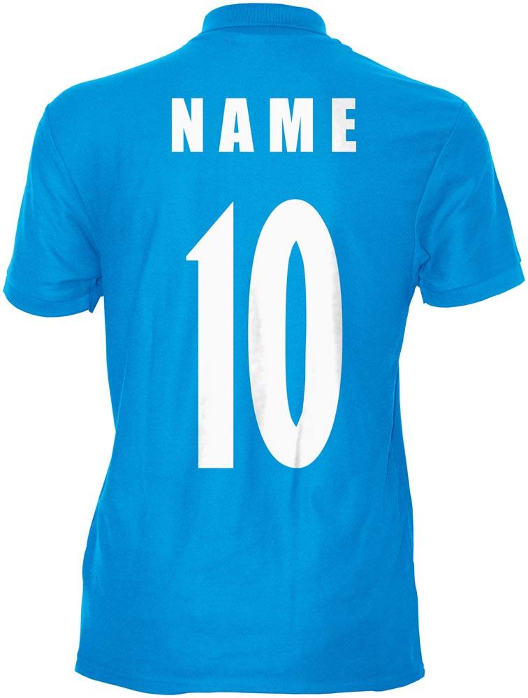 WM 2018 Südkorea SOUTH KOREA Polo-Shirt Trikot Name Nummer