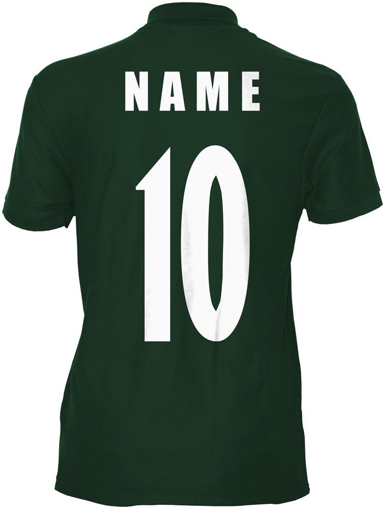WM 2018 Algerien ALGERIA Polo-Shirt Trikot Name Nummer