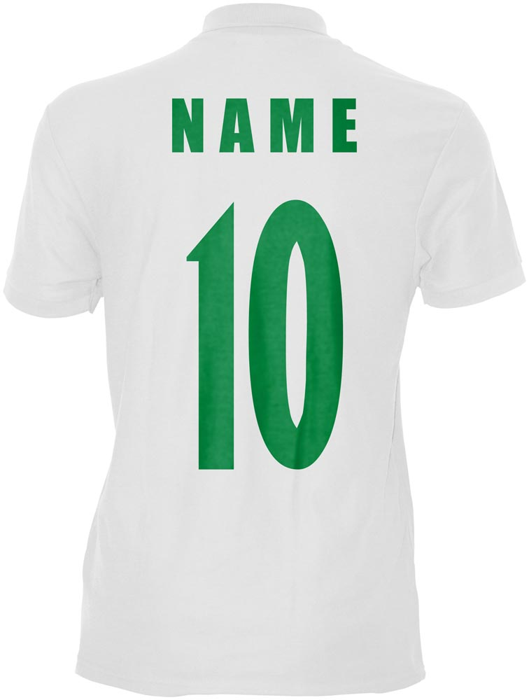 WM 2018 Nigeria Polo-Shirt Trikot Name Nummer