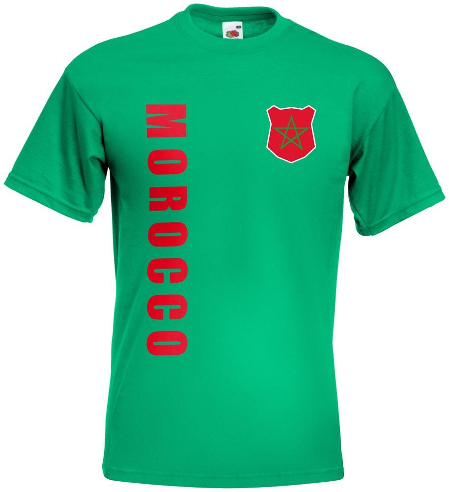 wm 2018 marokko morocco t shirt trikot name nummer mini wm. Black Bedroom Furniture Sets. Home Design Ideas