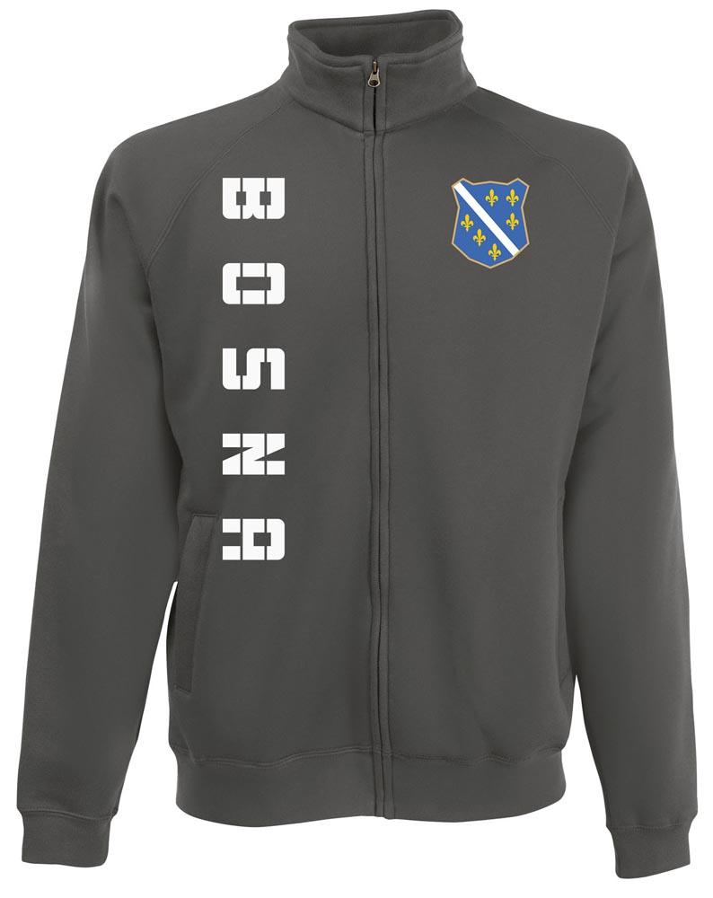 Bosnien BOSNA wM 2018 Sweat Jacke Trikot Name Nummer