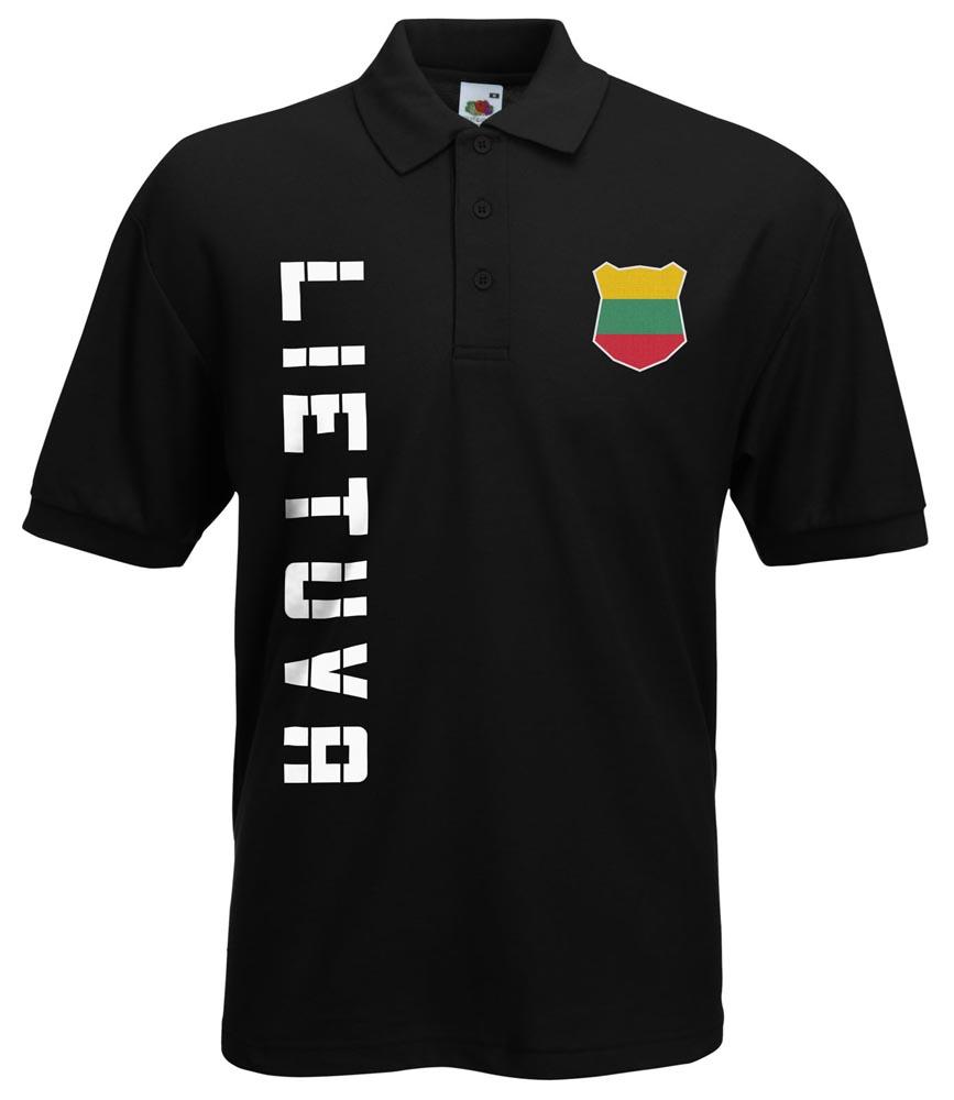 LITUANIA LIETUVA POLO MAGLIA CON NOME /& NUMERO S M L XL XXL