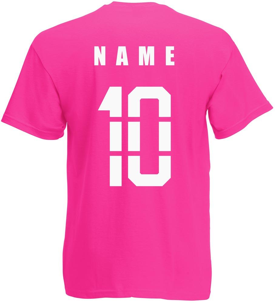 Dänemark Danmark T-Shirt Trikot incl Name /& Nummer Mini WM 2018