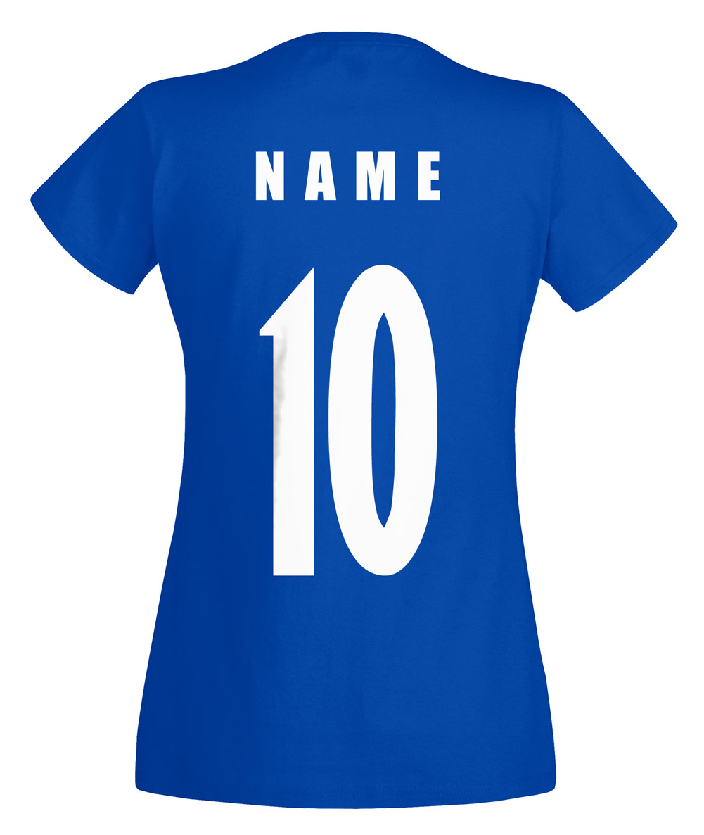 island wm 2018 damen t shirt trikot name nummer fussball. Black Bedroom Furniture Sets. Home Design Ideas